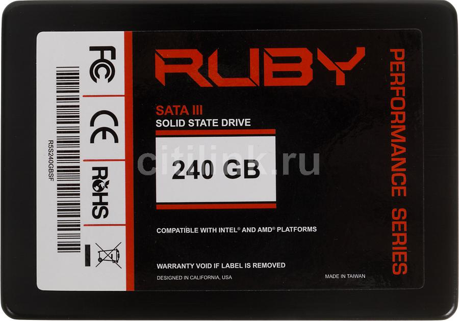 "Накопитель SSD AMD Performance R5S240GBSF 240Гб, 2.5"", SATA III"