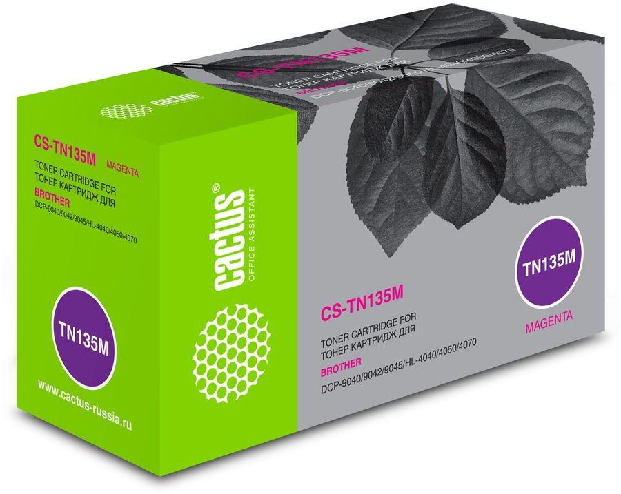 картридж CACTUS CS-TN135M пурпурный