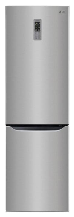 Холодильник LG GW-B489SMQW,  двухкамерный,  серебристый