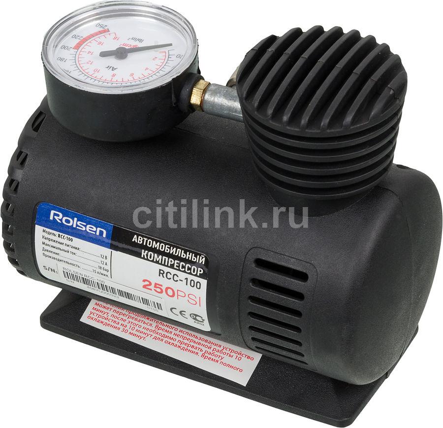 Автомобильный компрессор ROLSEN RCC-100 [1-rlca-rcc-100]