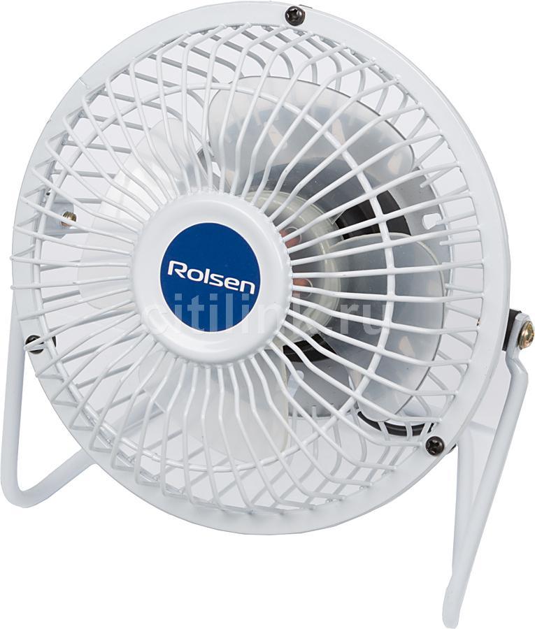 Вентилятор настольный ROLSEN RCF-420UW,  белый [1-rldb-rcf-420uw]
