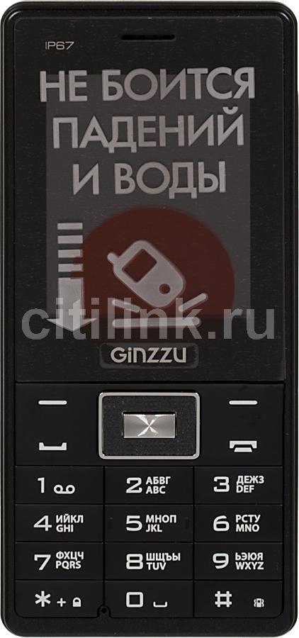 Мобильный телефон GINZZU R4 Dual Sim черный