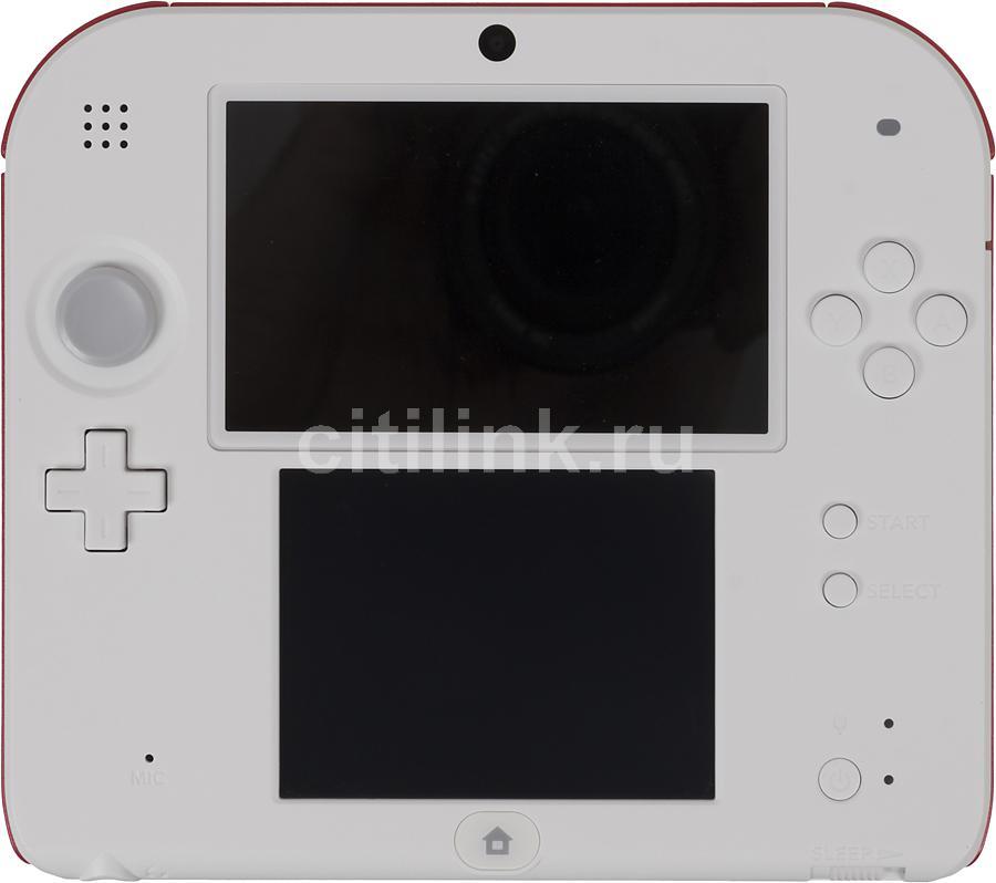 Игровая консоль NINTENDO 2DS 2202436, белый/красный