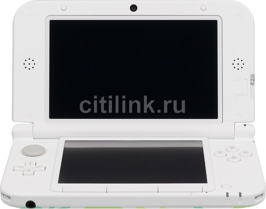 Игровая консоль NINTENDO 3DS XL Luigi, белый