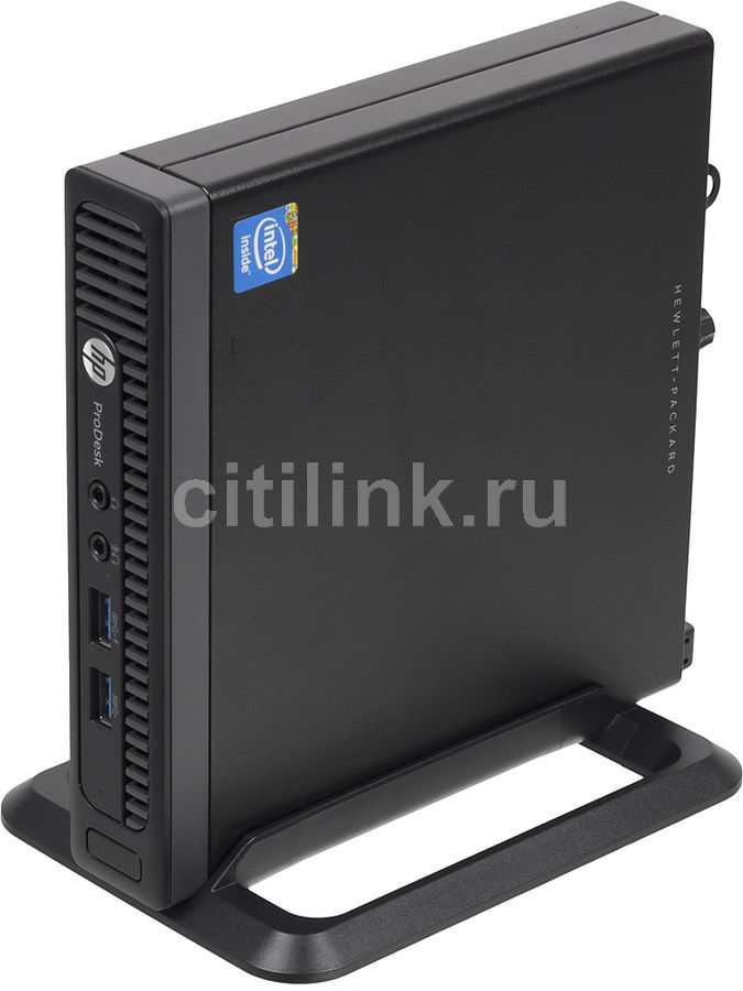 Компьютер  HP ProDesk 600 G1,  Intel  Celeron  G1840T,  DDR3 4Гб, 500Гб,  Intel HD Graphics,  Windows 7 Professional,  черный [j4u76ea]