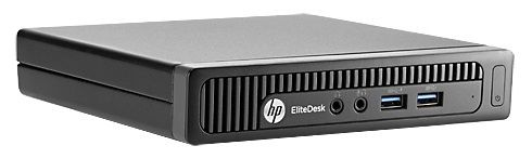 Мини ПК  HP EliteDesk 800,  Intel  Core i3  4130T,  4Гб, 500Гб,  Intel,  Free DOS [f6x34ea]
