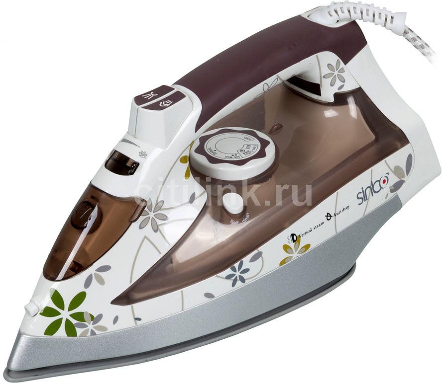 Утюг SINBO SSI 2864,  2200Вт,  коричневый