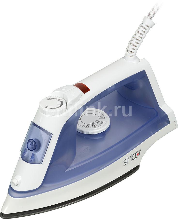 Утюг SINBO SSI 2868,  1800Вт,  синий/ белый