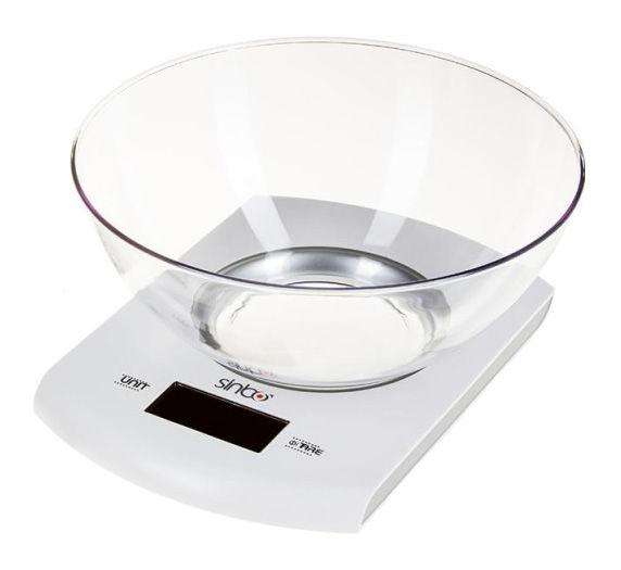 Весы кухонные SINBO SKS 4518,  белый
