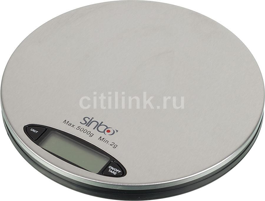 Весы кухонные SINBO SKS-4513,  серебристый