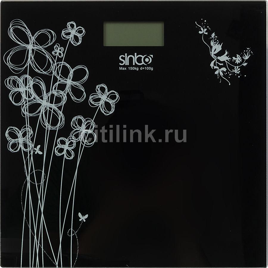Весы SINBO SBS 4427, до 150кг, цвет: черный