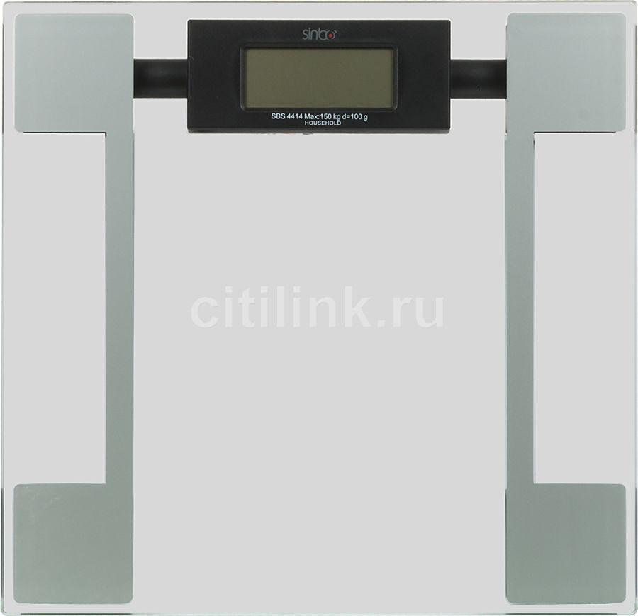 Весы SINBO SBS 4414, до 150кг, цвет: серебристый