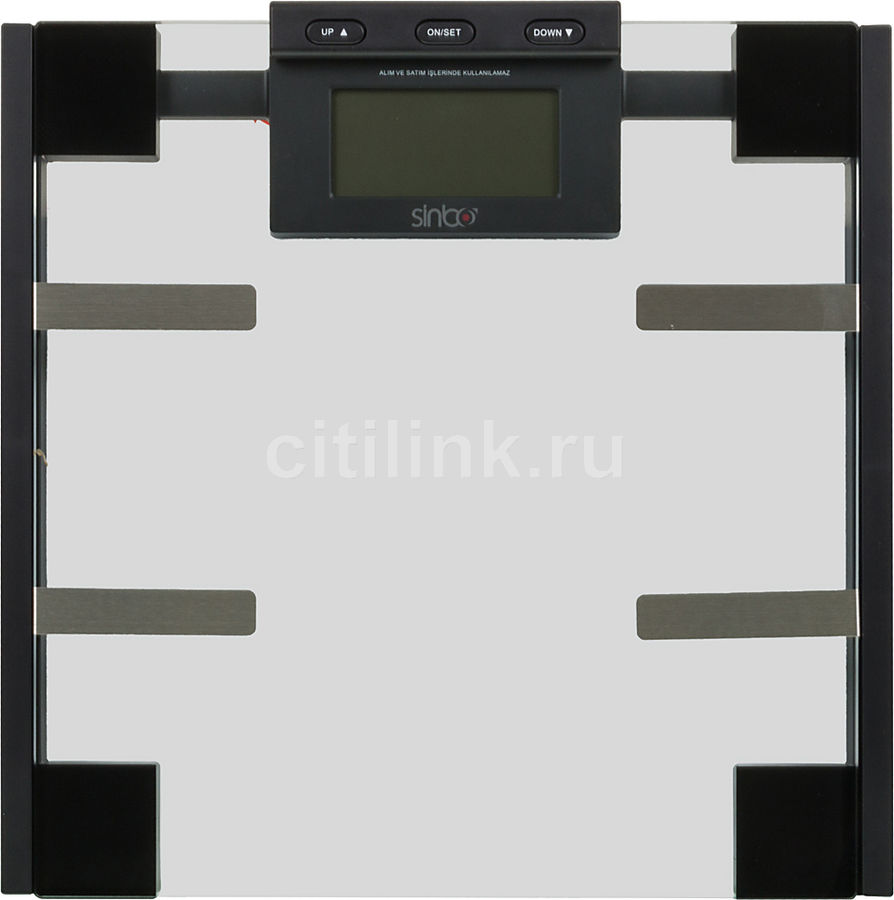 Весы SINBO SBS 4425, до 150кг, цвет: черный