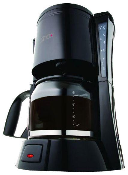 Кофеварка SINBO SCM 2917,  капельная,  черный