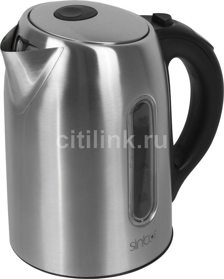 Чайник электрический SINBO SK 7335, 2000Вт, серебристый