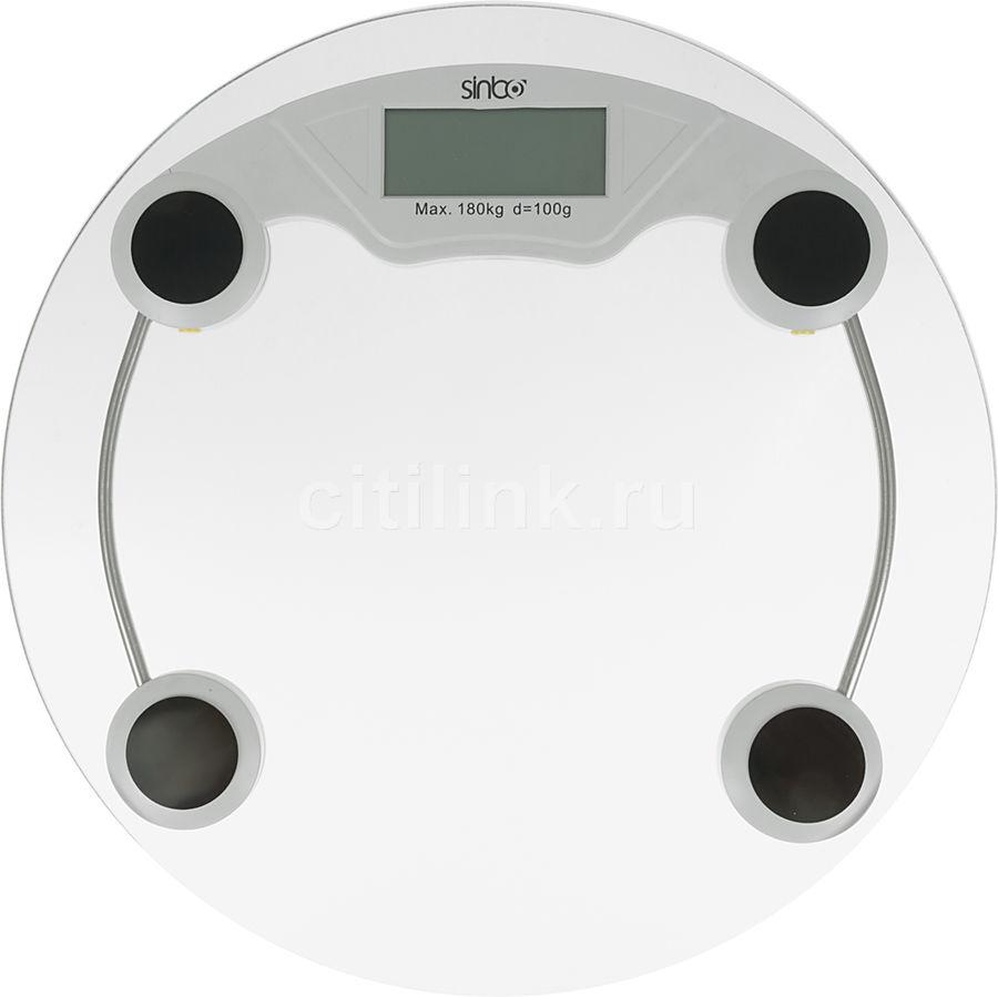Напольные весы SINBO SBS 4431, до 180кг, цвет: серебристый