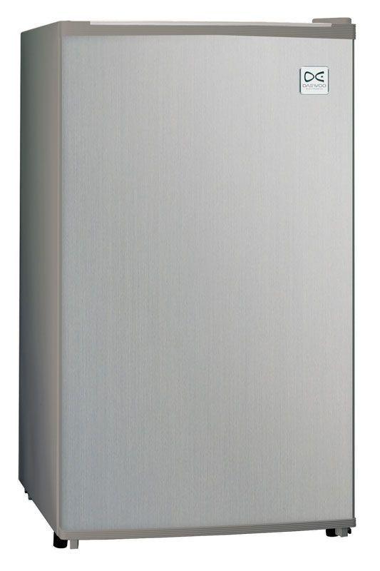 Холодильник DAEWOO FR-082AIXR,  однокамерный, серебристый