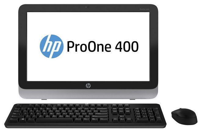 Моноблок HP ProOne 400 G1, Intel Core i3 4130T, 4Гб, 500Гб, Intel HD Graphics 4400, DVD-RW, Windows 8.1, черный и серебристый [d5u19ea]