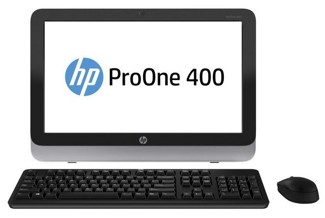 Моноблок HP ProOne 400 G1, Intel Core i5 4570T, 4Гб, 500Гб, Intel HD Graphics 4600, DVD-RW, Windows 7 Professional, черный и серебристый [f4q88ea]