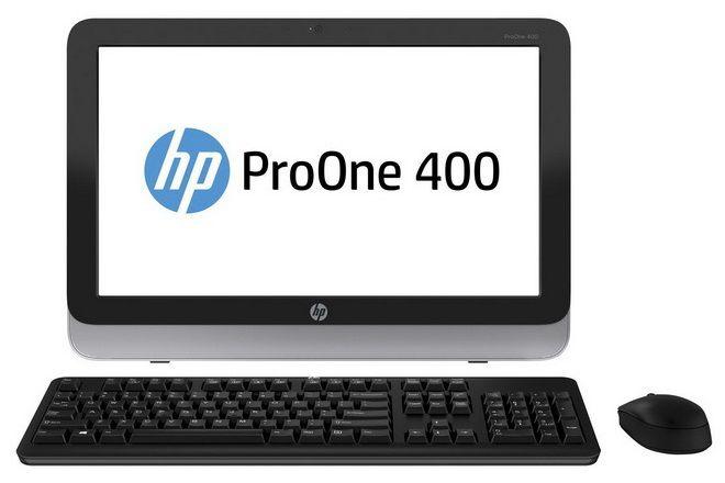 Моноблок HP ProOne 400, Intel Core i5 4570T, 8Гб, 180Гб SSD,  DVD-RW, Windows 8.1 Professional [d5u25ea]