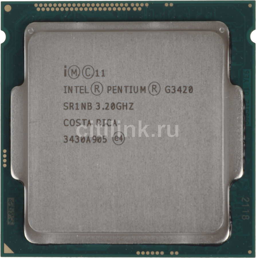 Процессор INTEL Pentium Dual-Core G3420, LGA 1150 OEM