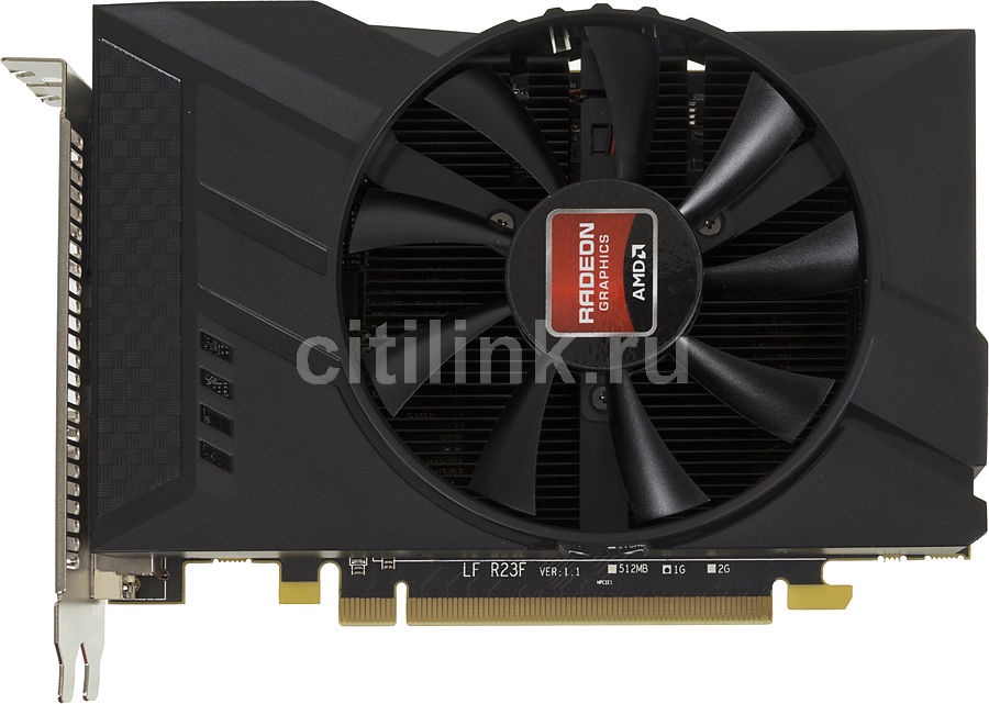 Видеокарта POWERCOLOR AMD  Radeon R7 250 ,  1Гб, GDDR5, OC,  oem