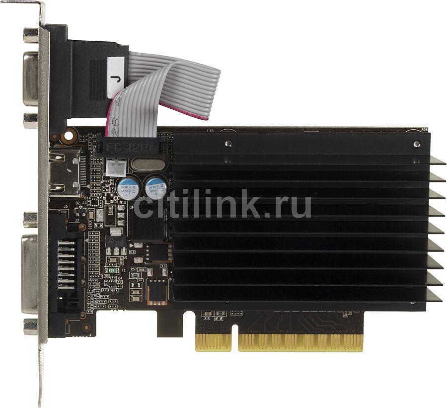 Видеокарта PALIT GeForce GT 730,  PA-GT730K-1GD3H,  1Гб, DDR3, Low Profile,  oem [neat7300hd06-2080h bulk]