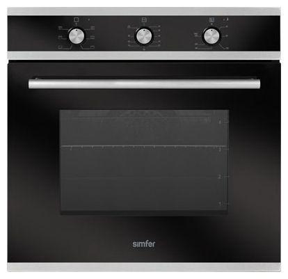 Духовой шкаф SIMFER B6006ЕERB,  черный