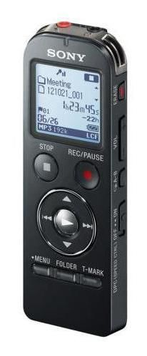 Диктофон SONY ICD-UX543 4 Gb,  черный [icdux543b.ce7]