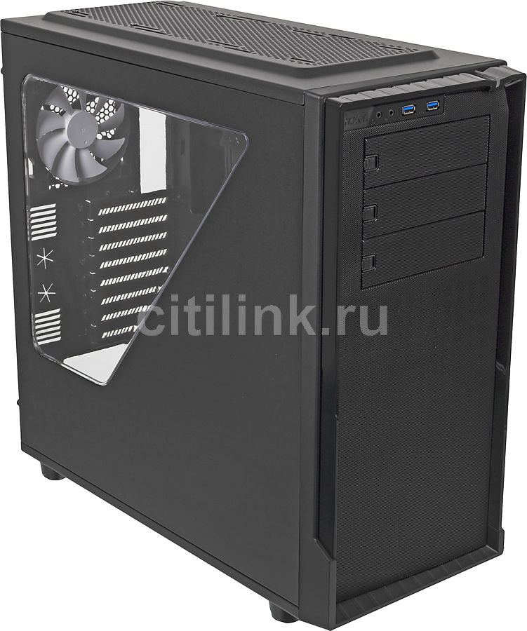 Корпус ATX NZXT Source 530, Full-Tower, без БП,  черный