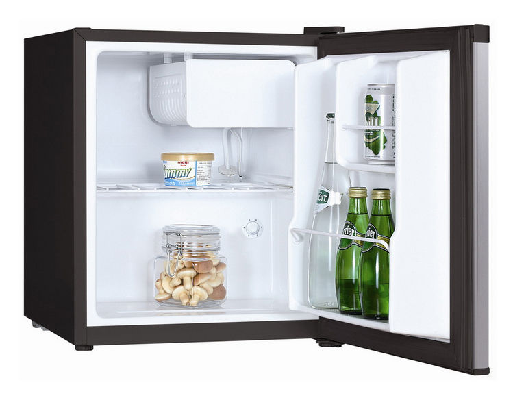 Холодильник SHIVAKI SHRF-51CHS,  однокамерный,  нержавеющая сталь