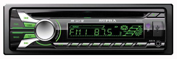 Автомагнитола SUPRA SCD-45USC,  USB,  SD/MMC