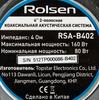 Колонки автомобильные ROLSEN RSA-B402,  коаксиальные,  160Вт [1-rlca-rsa-b402] вид 3