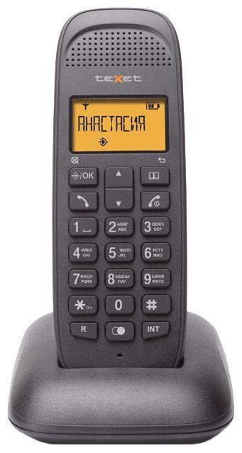 Радиотелефон TEXET TX-D5405А,  черный