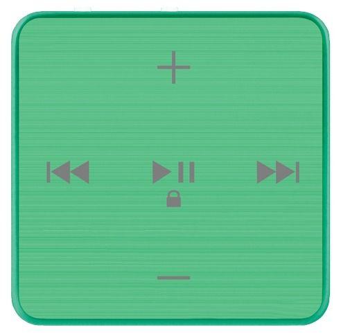 MP3 плеер TEXET T-22 flash 4Гб зеленый [124113]