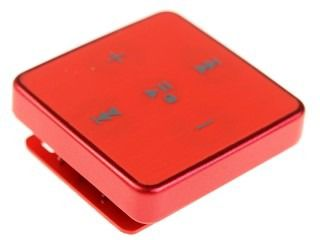 MP3 плеер TEXET T-22 flash 4Гб красный [124114]