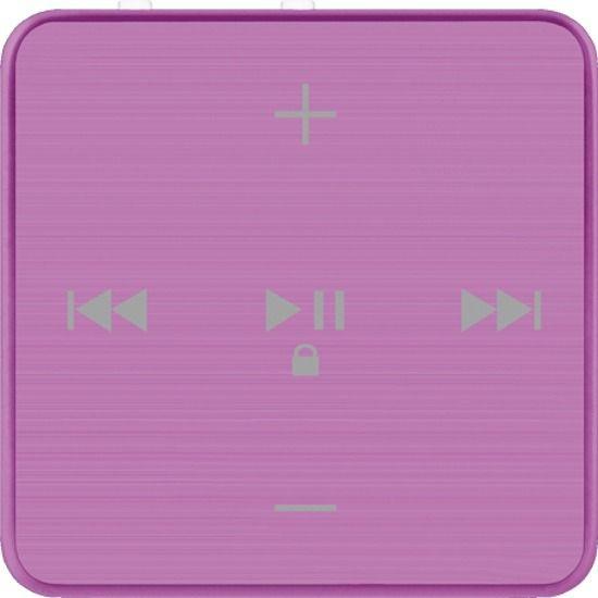 MP3 плеер TEXET T-22 flash 4Гб фиолетовый [124116]