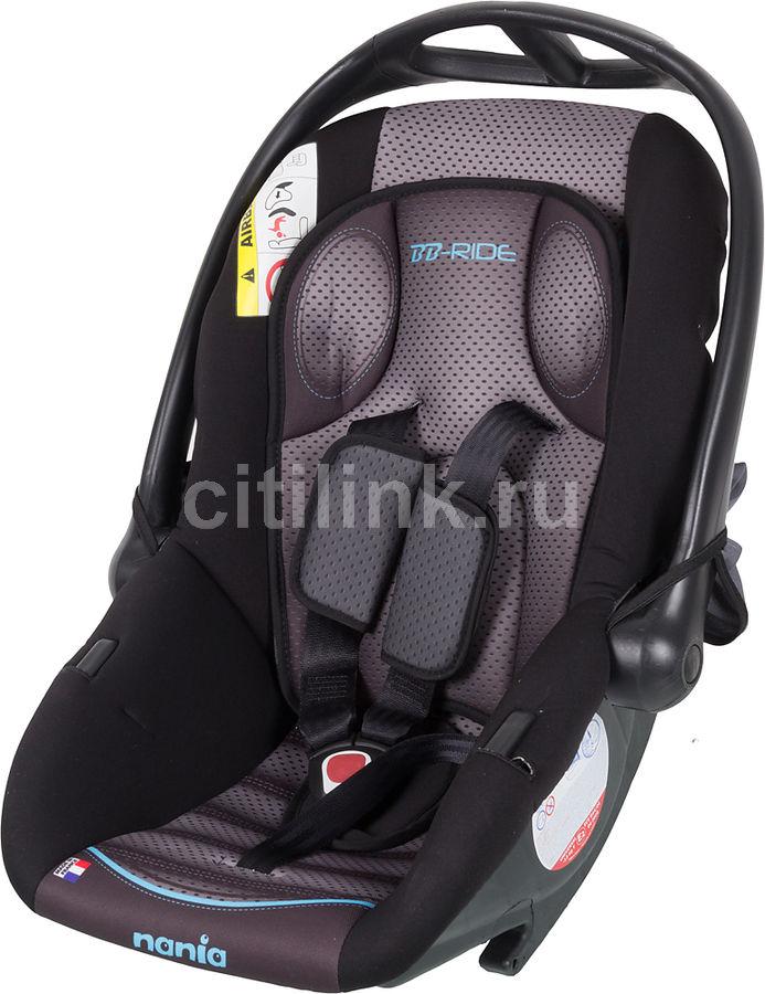 Автокресло детское NANIA Baby Ride FST (graphic itech), 0/0+, серый [373075]