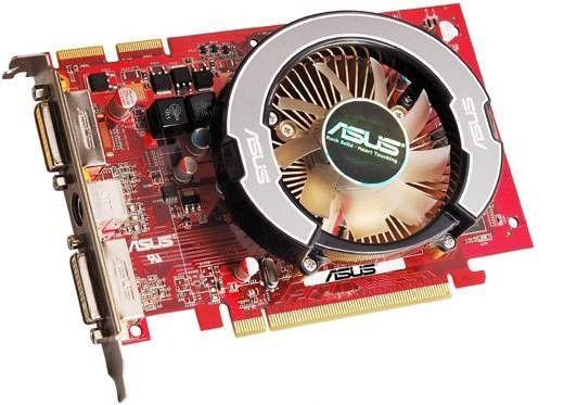 Видеокарта ASUS Radeon HD 3650,  256Мб, DDR3, Ret [eah3650 htdi/256]
