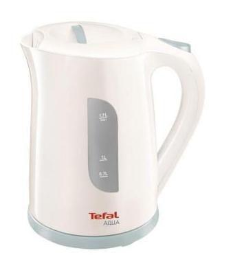 Чайник электрический TEFAL KO270130, 2400Вт, белый