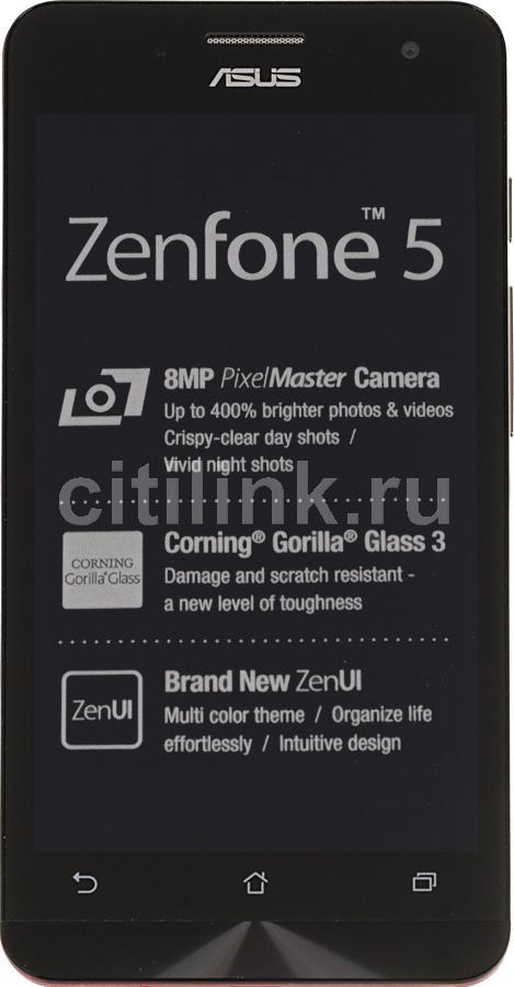 Смартфон ASUS Zenfone 5 A501CG  16Gb, красный