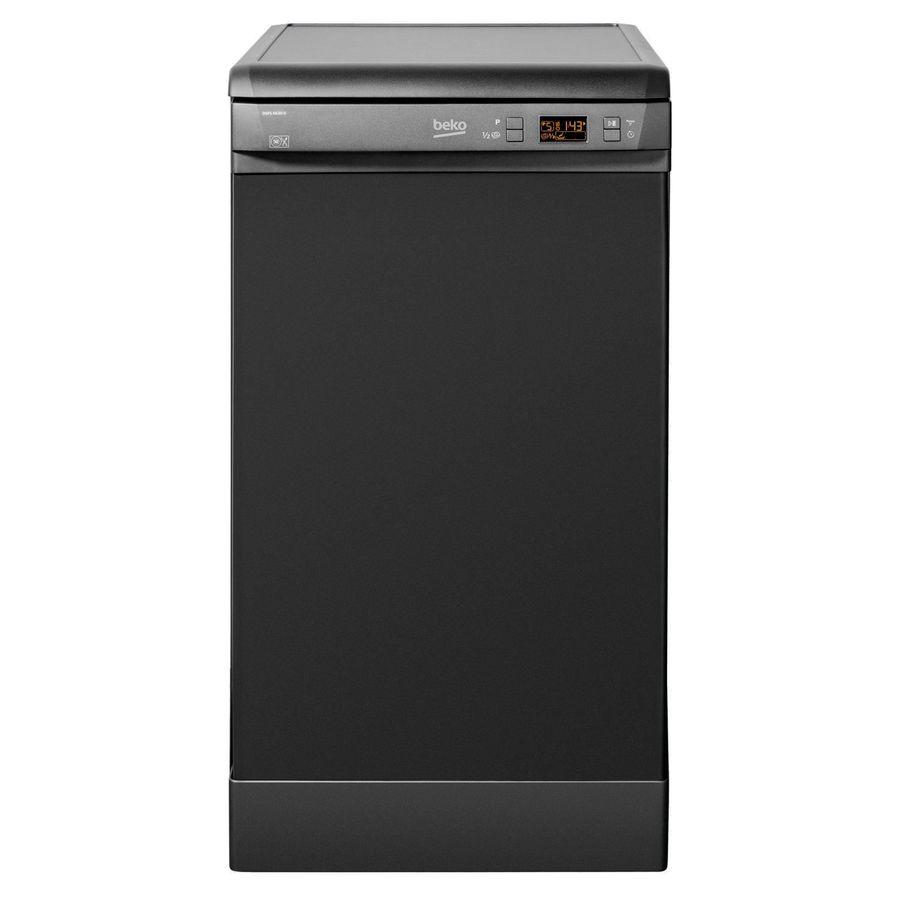 Посудомоечная машина BEKO DSFS 6630 B,  узкая, антрацит [dsfs 6630b]
