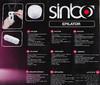 Эпилятор SINBO SEL 6020 белый вид 10