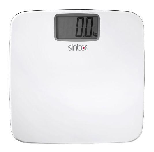 Весы SINBO SBS 4422, до 150кг, цвет: белый