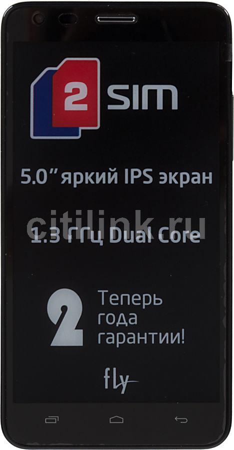 Смартфон FLY Era Life 2 IQ456  черный