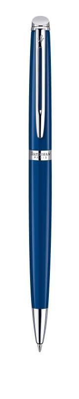 Ручка шариковая Waterman Hemisphere (1904603) Obsession Blue CT M синие чернила подар.кор.