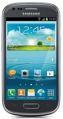 Смартфон SAMSUNG Galaxy S III mini GT-I8190  8Gb, серый
