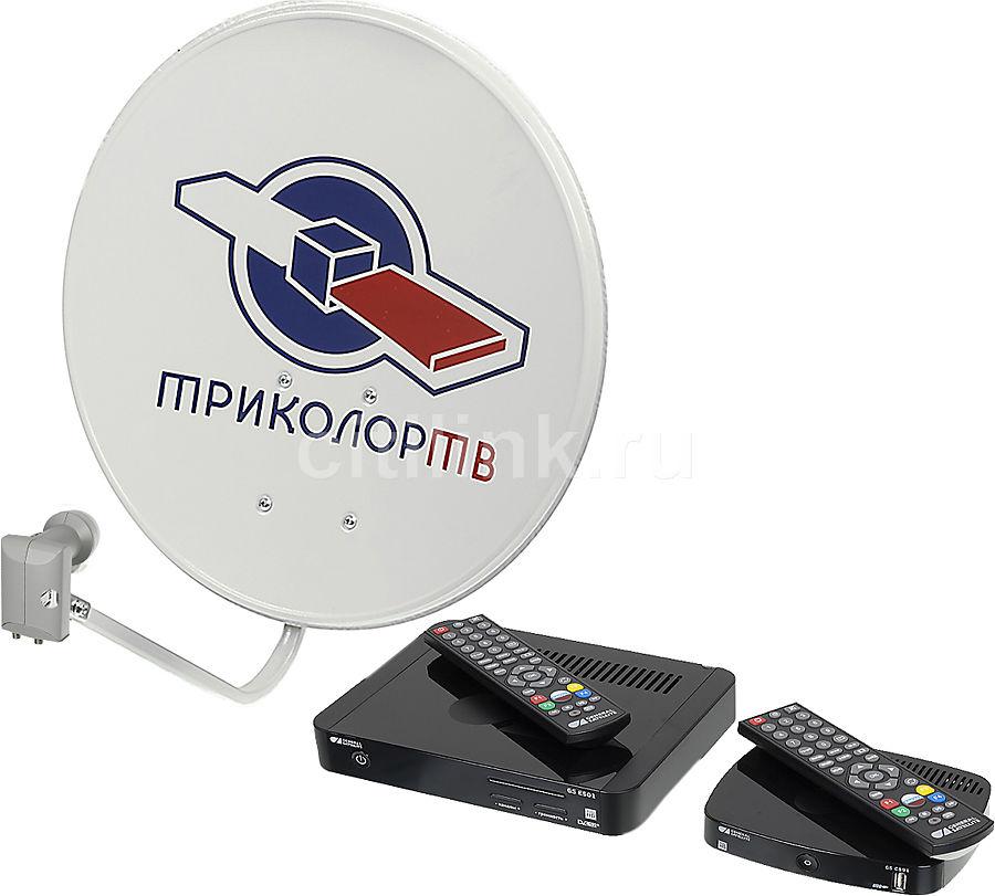 Комплект спутникового телевидения ТРИКОЛОР GS E501 + GS C591