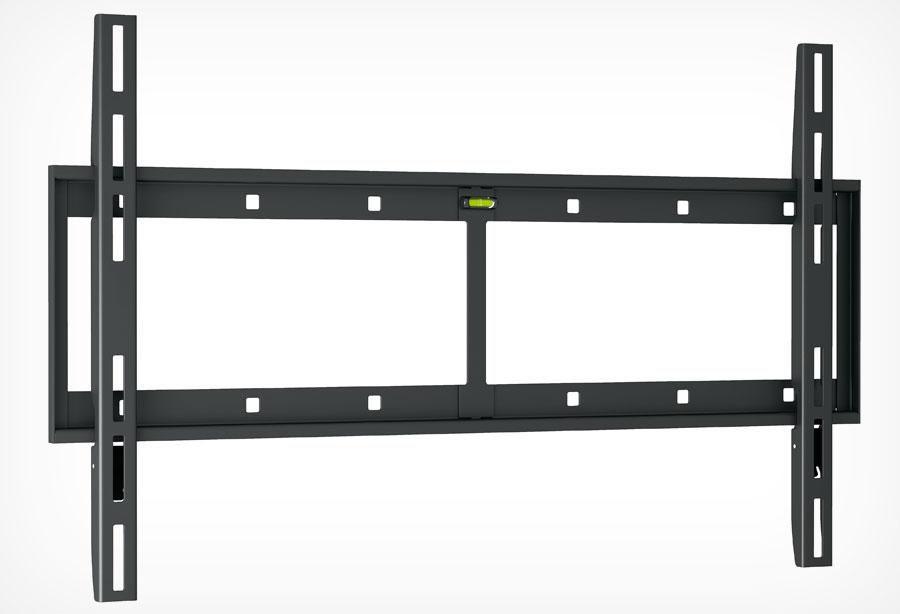 """Кронштейн для телевизора Holder LCD-F6607 черный 42""""-65"""" макс.60кг настенный фиксированный"""