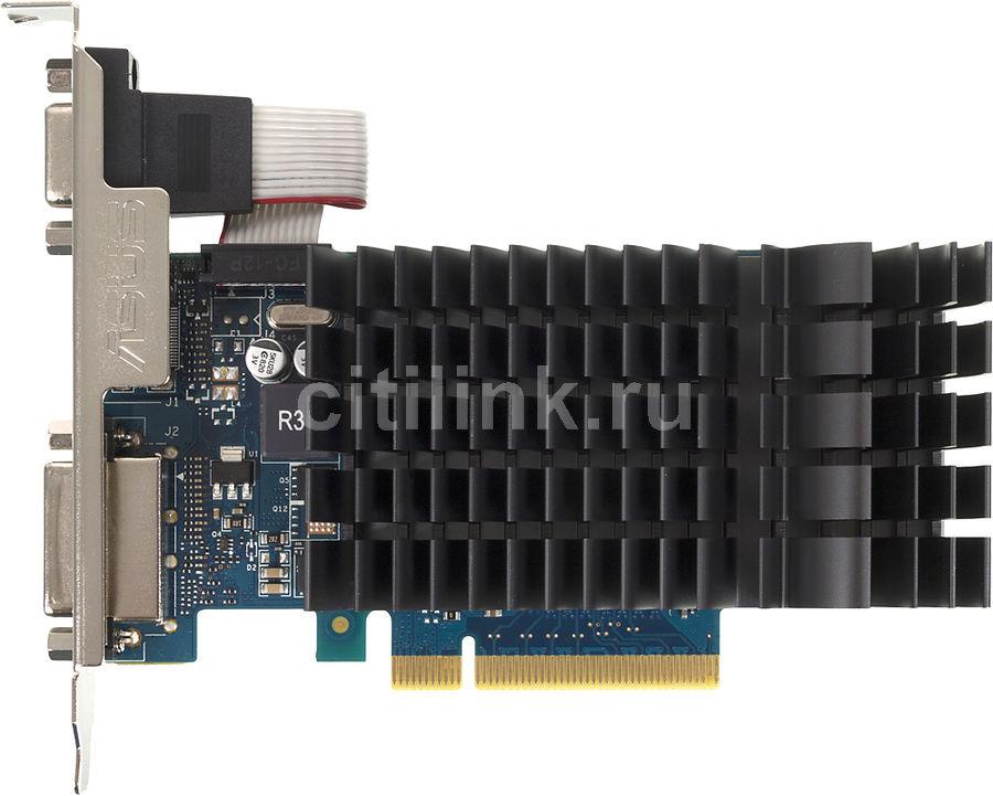 Видеокарта ASUS GeForce GT 730,  GT730-SL-2GD3-BRK,  2Гб, GDDR3, Ret